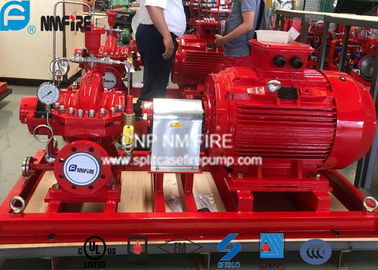 UL Listed Fire Fighting Pump Set With Electric Motor Driven 2000GPM / 155PSI
