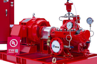 NFPA 20 500 GPM Electric Motor Driven Fire Pump UL Listed FM Approved with High Pressure