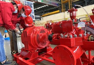 1000GPM@170PSI Electric Motor Driven Fire Pump Centrifugal For Office Building